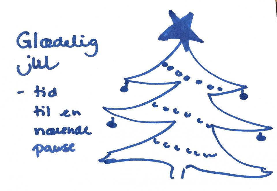 Glædelig jul - tid til en nærende pause